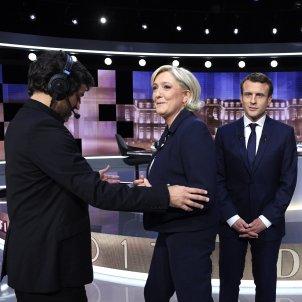 Le Pen Macron - EFE