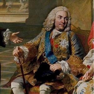 Felip V retorna al tron espanyol. Fragment del quadre La familia de Felipe V. Font Museu del Prado (1) (1)