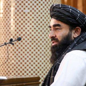 portavoz talibanes afganistan Zabihullah Mujahid efe