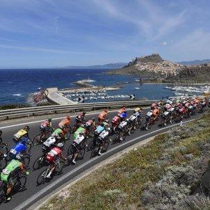 Giro Itàlia Alguer Ciclisme Efe