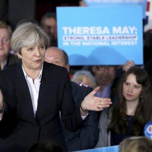 Theresa May - EFE