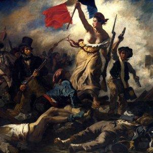 La llibertat guiant el poble. Eugène Delacroix (1830). Museu del Louvre