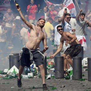 Eurocopa disturbis aficionats Efe