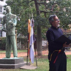Estàtua a Lluís Companys a Buenos Aires