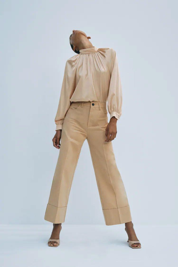 Straight pants from Zara1