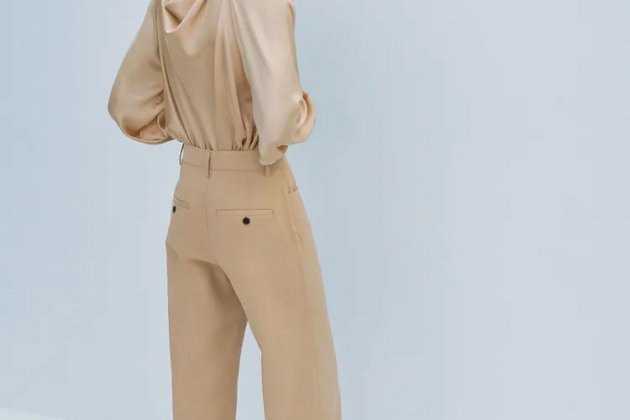 Straight pants from Zara