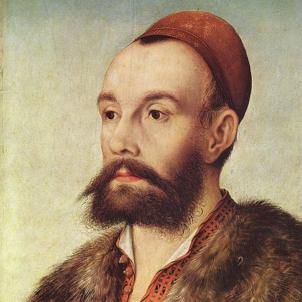 Mor Fugger, el banquer alemany que buscava el tresor templer al Maestrat. Representació de Fugger. Font Museu de Karlsruhe
