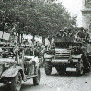 A Europa la II Guerra Mundial toca a la seva fi. Brigada Leclerc. Catalans republicans en l'alliberament de Paris. 26 08 1944