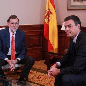 Sánchez y Rajoy ACN 2