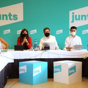 Junts, Jordi Puigneró, Jordi sánchez, Laura Borràs - ACN