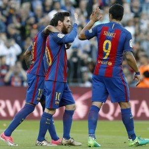 Trident Messi Neymar Suarez EFE