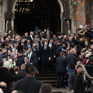 Gran repercussió mediàtica de les eleccions de França   EFE