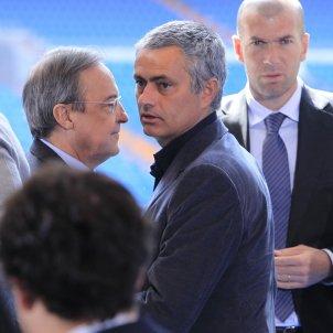Florentino Perez Mourinho Zidane EuropaPress