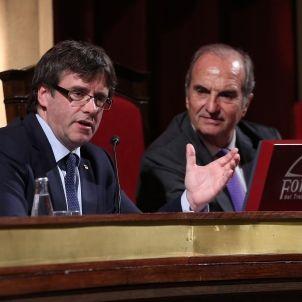Puigdemont i Gay de Montellà a Foment