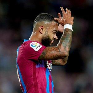 Memphis Depay desesperado Barça Granada EFE