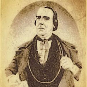 Mor Joan Casacuberta, pioner del teatre argentí. Retrat de Joan Casacuberta. Font Pinterest