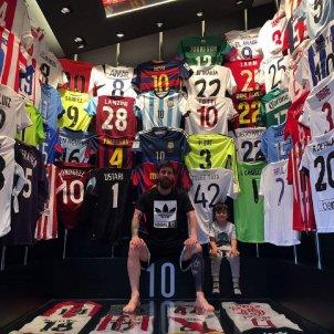 Leo Messi samarretes futbol @leomessi