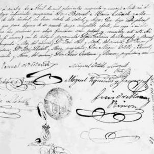 Mor Pasqual Estruch, l'atorgant del testament més polèmic del segle XIX. Testament de Pasqual Estruch. Font Arxiu del Regne de València