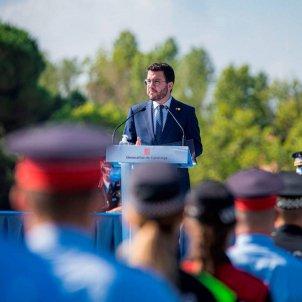 pere aragonès acto graduación escuela de policia / Govern