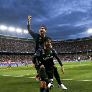 Reial Madrid Celebració Vicente Calderón Atlètic de Madrid Efe