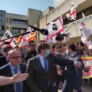EuropaPress 3981649 expresidente generalitat carles puigdemont llega tribunal apelacion sassari (2)