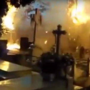 incendi cementiri
