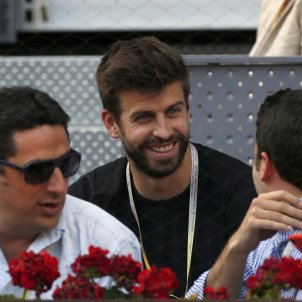 Gerard Piqué tennis Madrid Efe