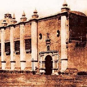 Joan Baptista de la Roca. Primera seu de la Universitat de Lima