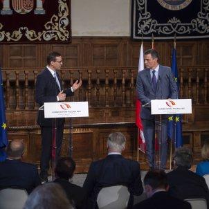 cumbre españa polonia mayo 2021 Mateusz Morawiecki pedro sánchez   europa press