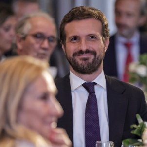 EuropaPress 3987330 presidente pp pablo casado participa desayuno informativo forum europa