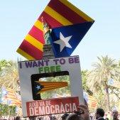Estatua de la llibertat urna independencia estelada -  Sergi Alcàzar
