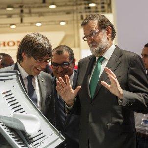 Rajoy Puigdemont Seat - Sergi Alcàzar