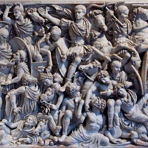 Guerra Romans contra Bàrbars Sarcòfag Grande Ludovisi (Jarnow)