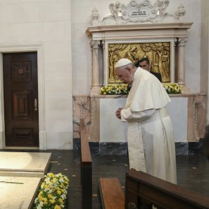 Papa a Fàtima 2 EFE