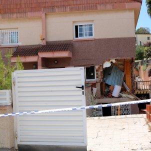 Casa de Segur de Calafell que ha explotat   ACN