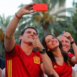 Selfie Arrimadas Albert Rivera Espanya Sergi Alcàzar