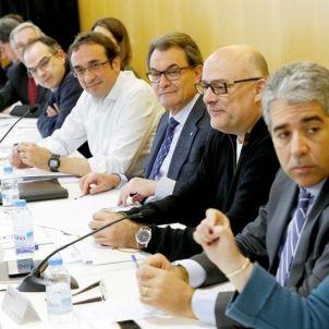 Artur Mas-Francesc Homs-CDC-efe