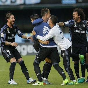 Reial Madrid celebració Celta Efe