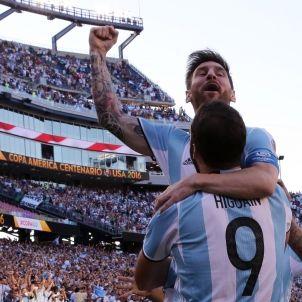 Messi gol copa amèrica efe