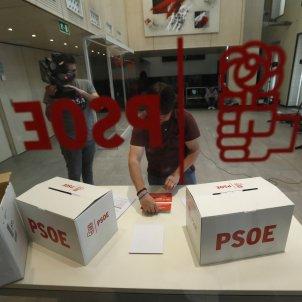 URNAS PRIMARIAS PSOE EFE