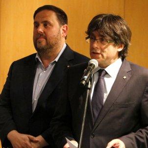 Puigdemont Junqueras referèndum - ACN