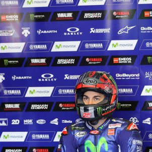 Maverick Viñales Moto GP Le Mans Efe