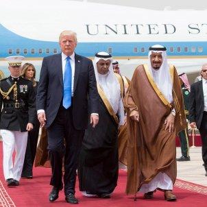 Trump Arabia Saudí efe