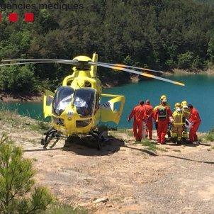 accident moto Lleida   SEM