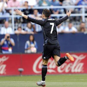 Cristiano Ronaldo celebració gol Reial Madrid Malaga   EFE