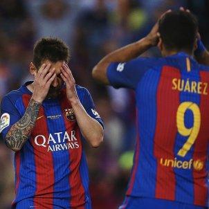 Luis Suarez Leo Messi Barça Eibar   EFE