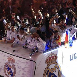 Reial Madrid celebració LLiga   EFE