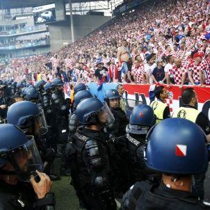 Croàcia República Txeca Eurocopa aldarulls bengales Efe (3)