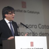 Puigdemont conferencia madrid efe