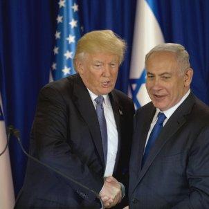 Trump  Netanyahu - EFE